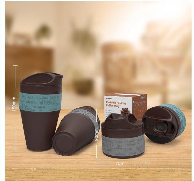 La taza de café plegable. Un invento cojonudo