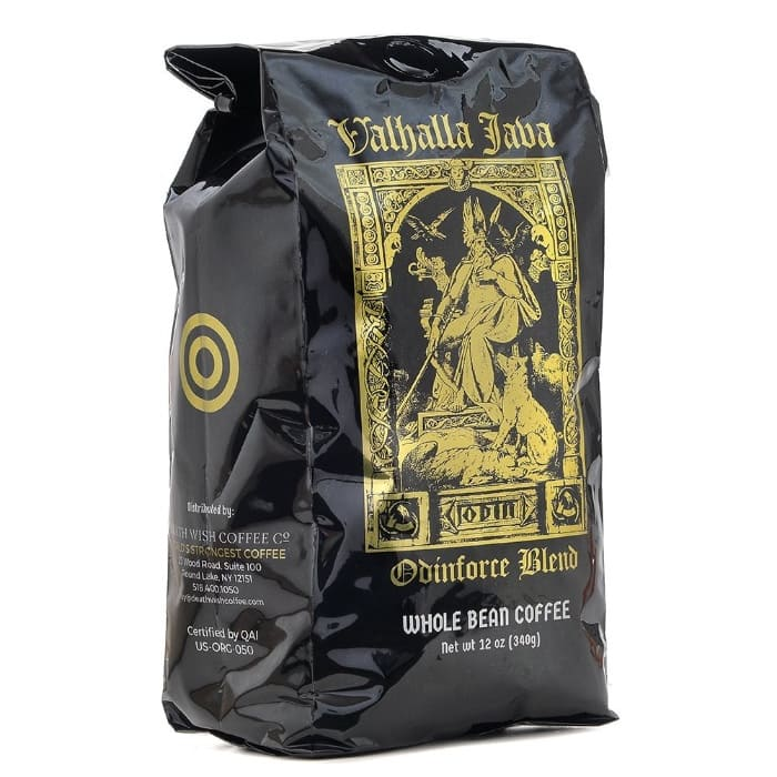 Valhalla Java Whole Bean Coffee by Death Wish Coffee Company