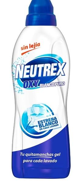 Neutrex Oxy Blanco Puro Quitamanchas Gel sin Lejía para Ropa