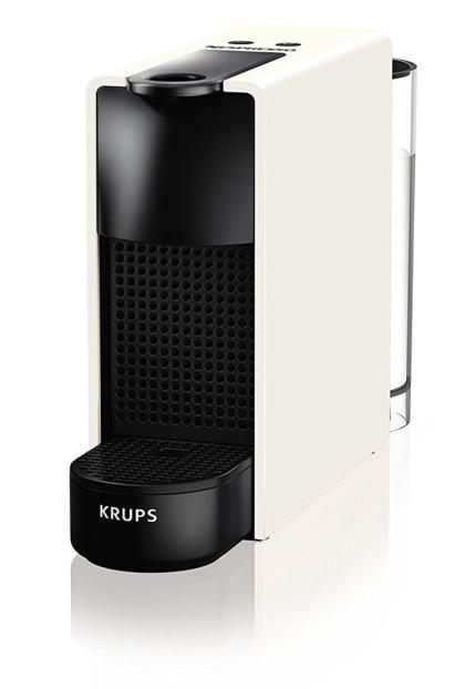 Krups Nespresso Essenza Mini - Cafetera, potencia 1450 W, color blanco