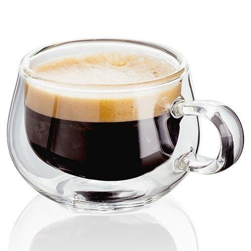 Judge - Tazas de cristal para café expreso