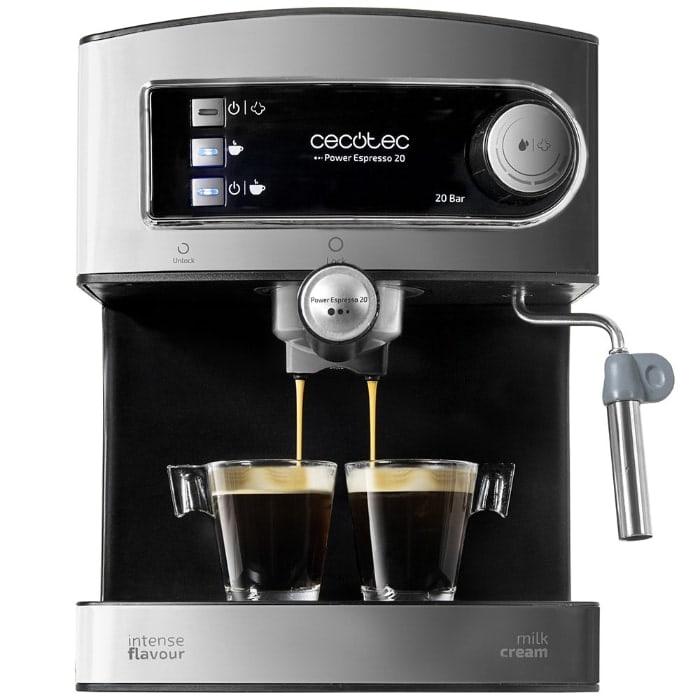 Las mejores cafeteras espresso manuales de 2019: Cecotec Power Espresso