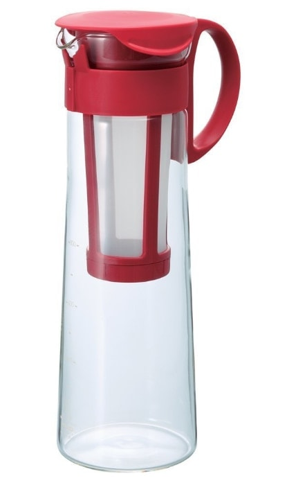 Hario Cold Brew Coffee Pot Red MCPN-14R