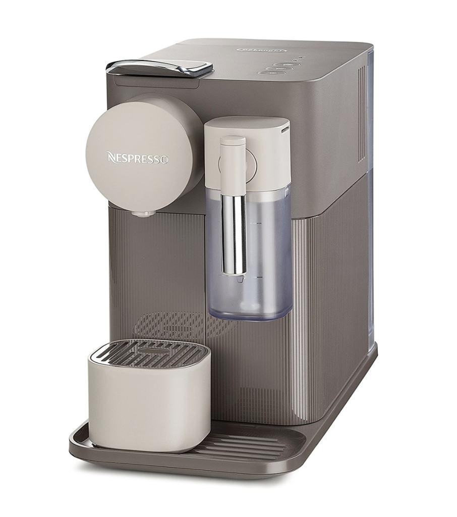 Mejores cafeteras de cápsulas Nespresso que puedes comprar por calidad precio: Nespresso De'longhi Lattissima One