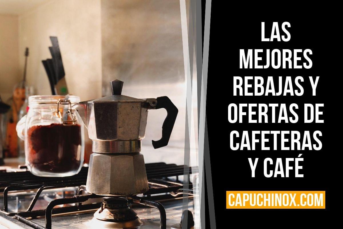 Las mejores rebajas y ofertas de cafeteras y café (Amazon