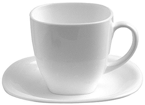 Tazas de café Carine Luminarc de Dajar (6 tazas y 6 platillos - 22 cl)