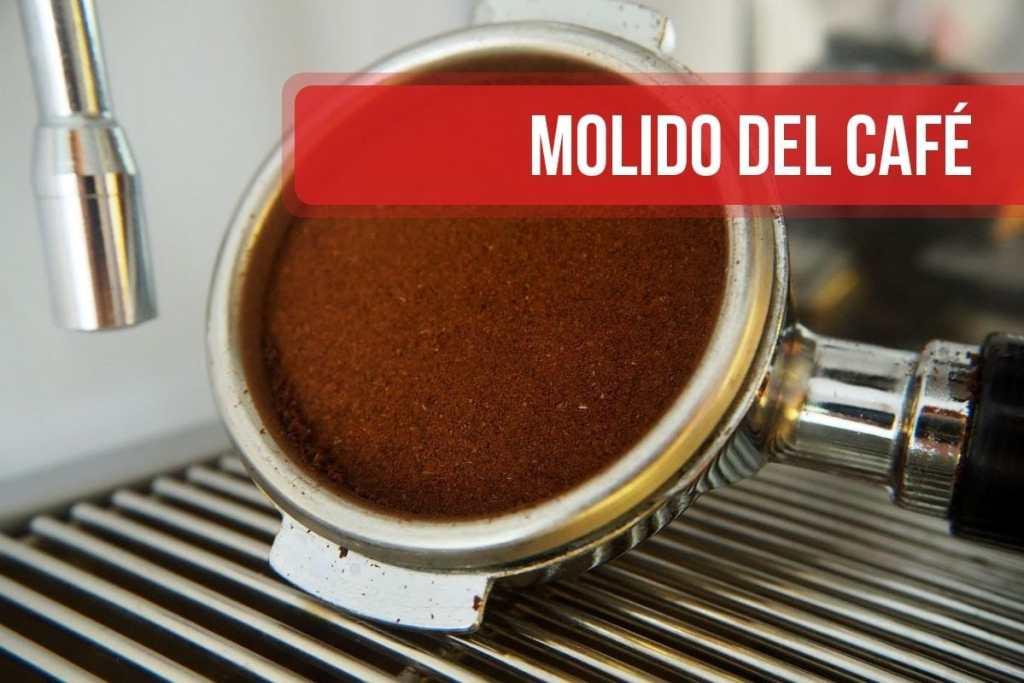 Molido del café