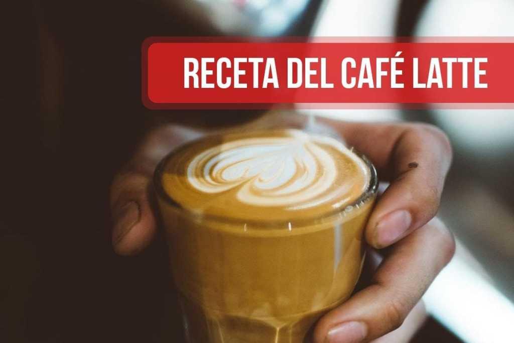 Receta del café Latte