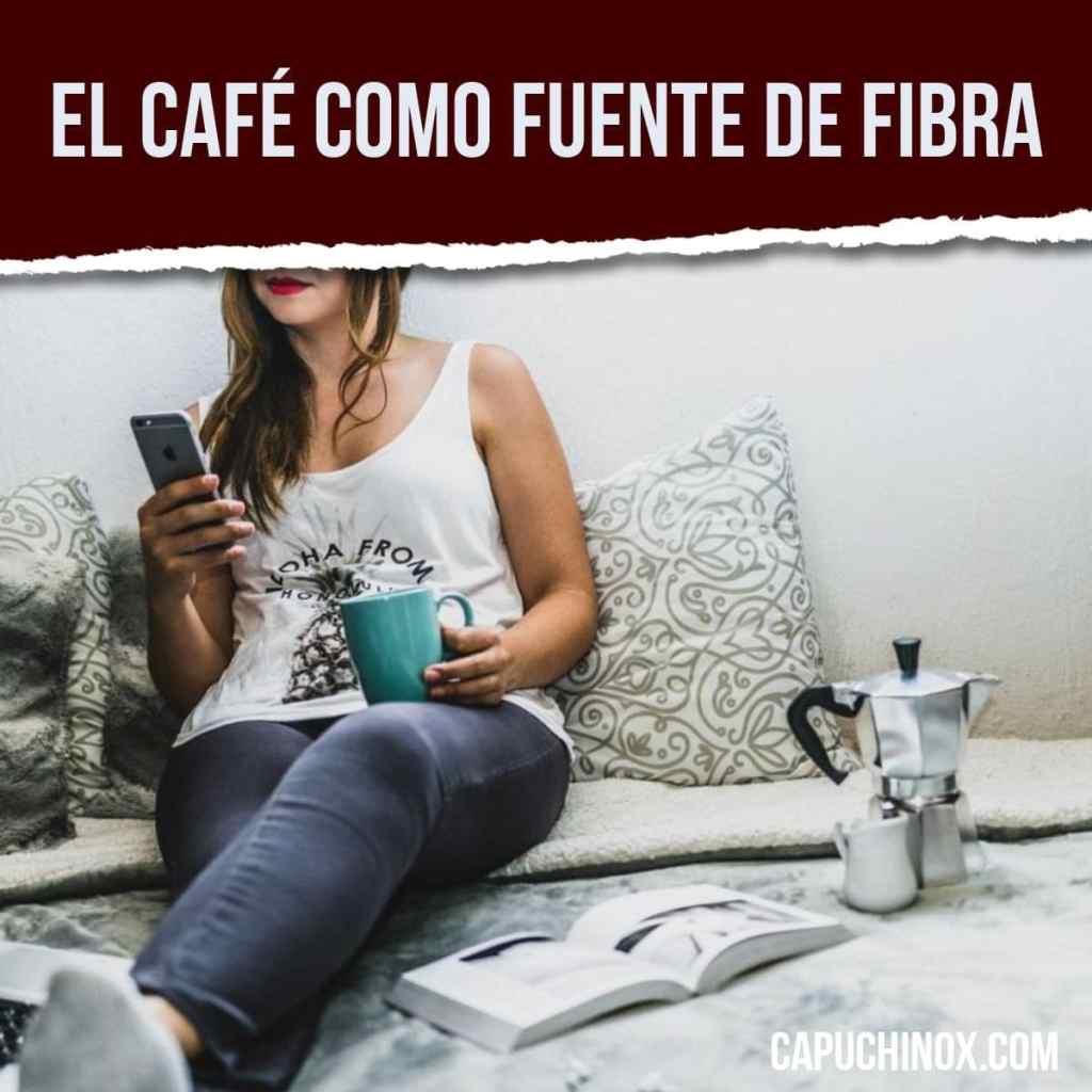 El café como fuente de fibra