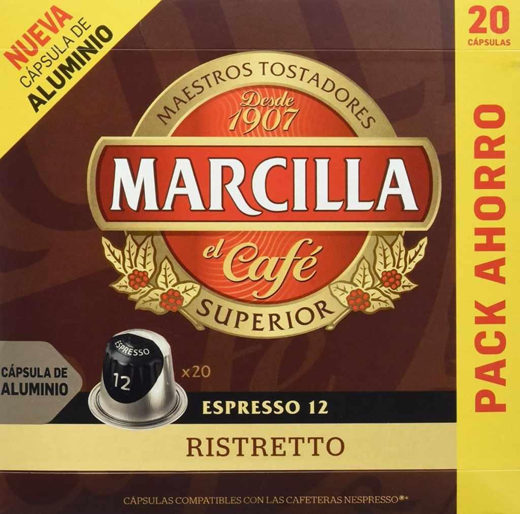 Marcilla Cápsulas Nespresso