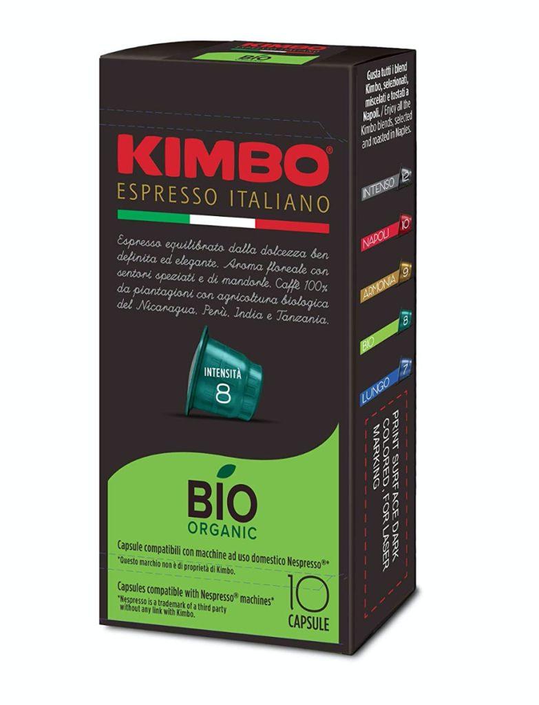Kimbo Bio - Café orgánico en cápsulas