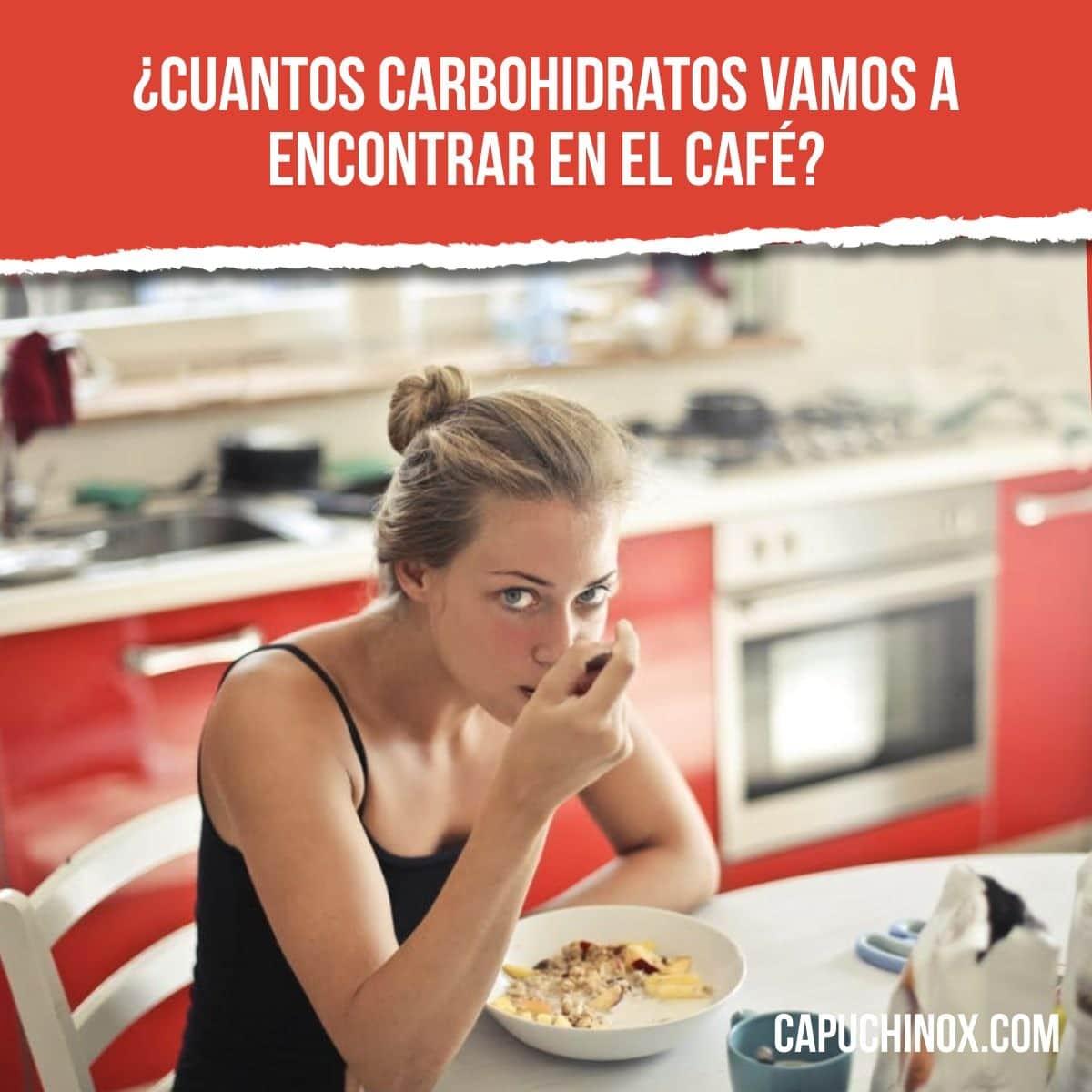 calorias del espresso bar instantaneo dupe azucar