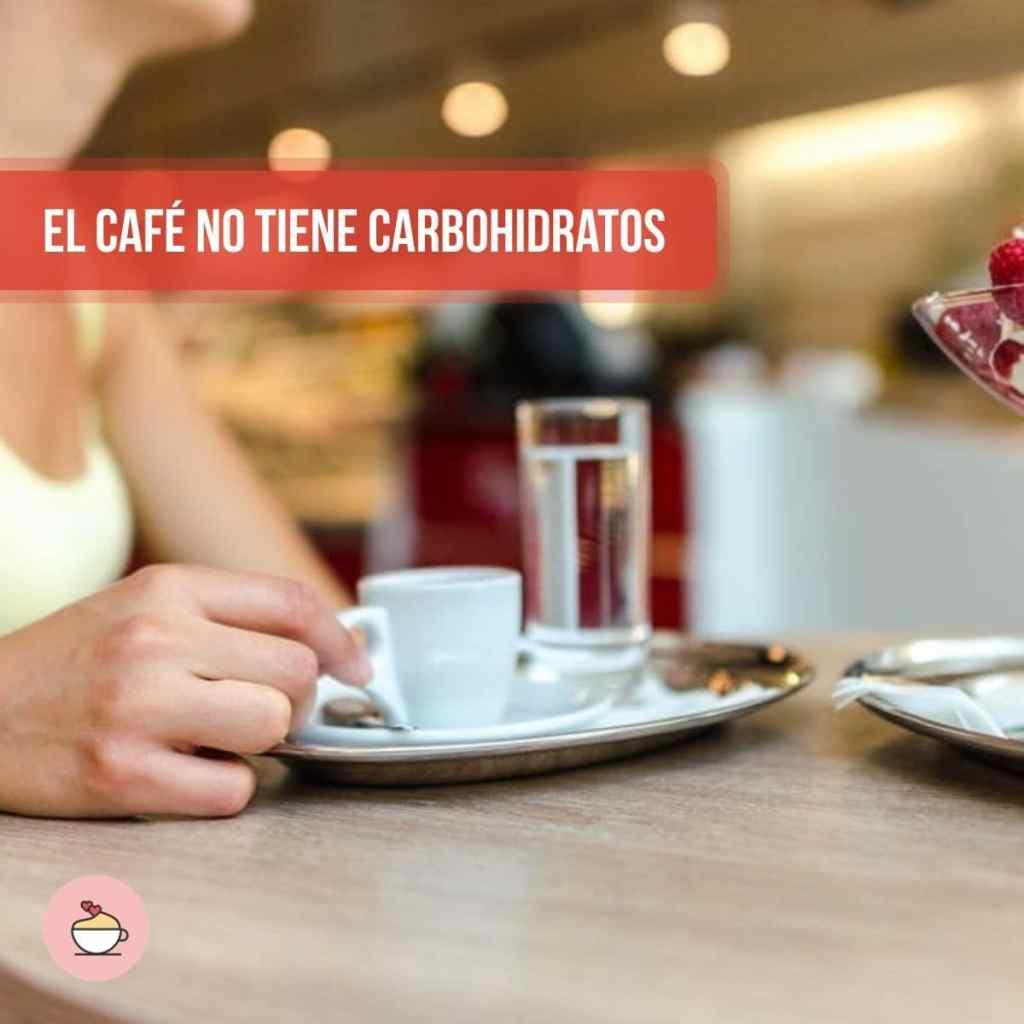 El café no tiene carbohidratos