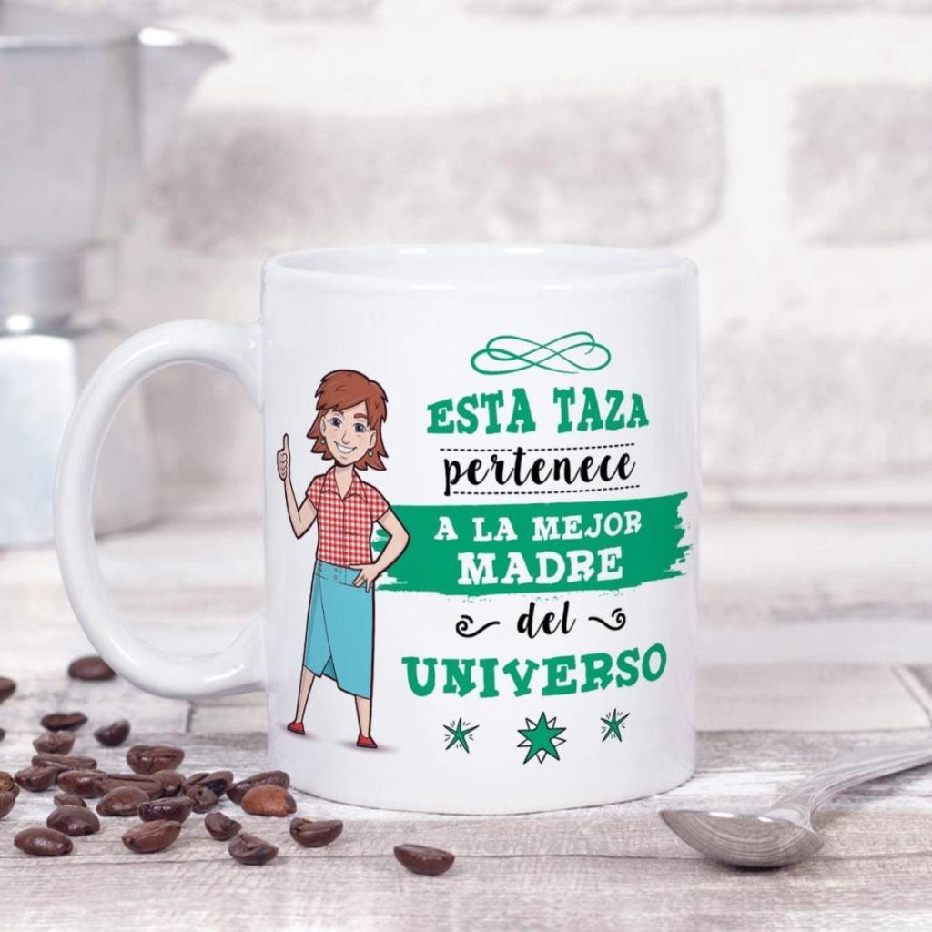 MUGFFINS Mama Tazas Originales de café y Desayuno para Regalar a Madres