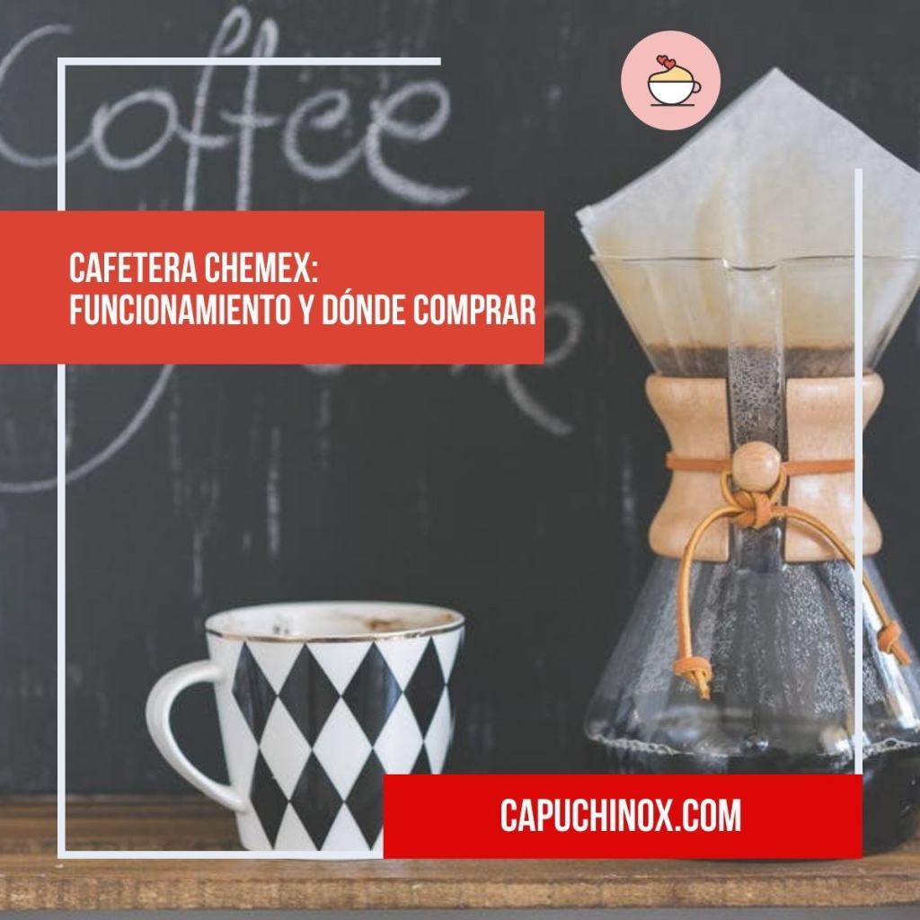 Cafetera Chemex: funcionamiento y dónde comprar