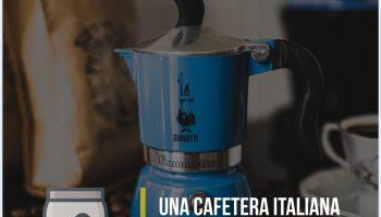 Una cafetera italiana de Bialetti para llamar la atención