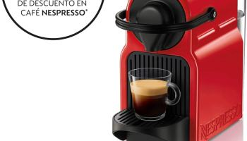 Krups XN1005 Nespresso Inissia - Cafetera monodosis de cápsulas Nespresso - Promotion cafetera Nespresso