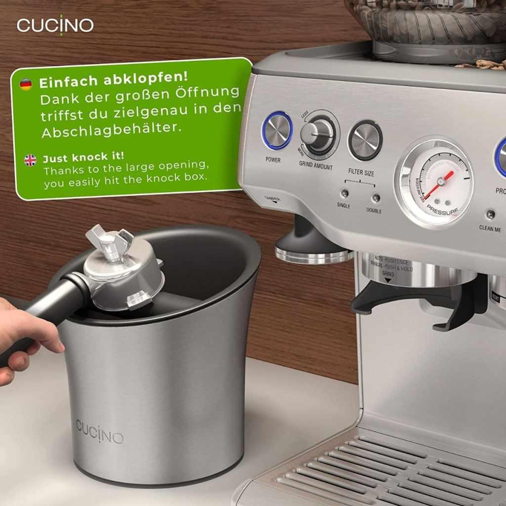 Recipiente para posos de café de Cucino