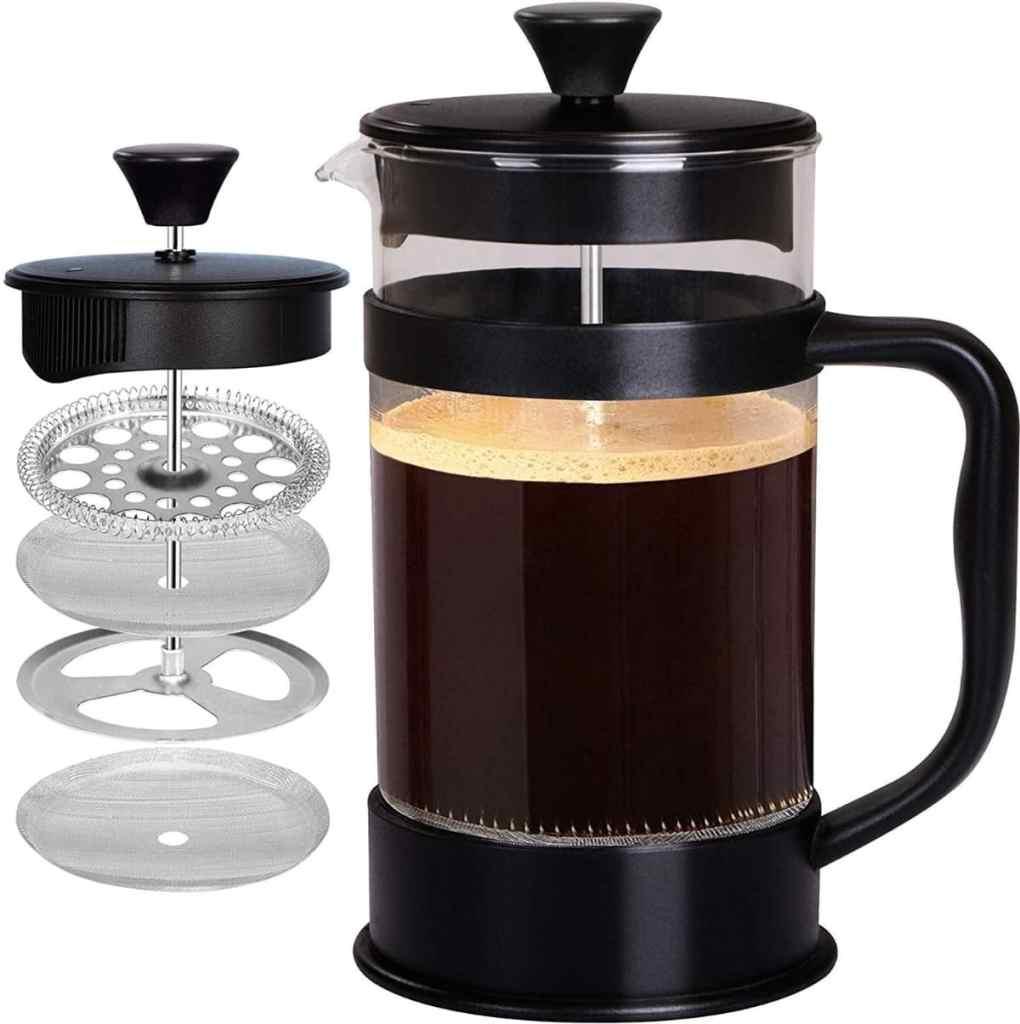Cafetera KICHLY de 8 tazas: gran capacidad