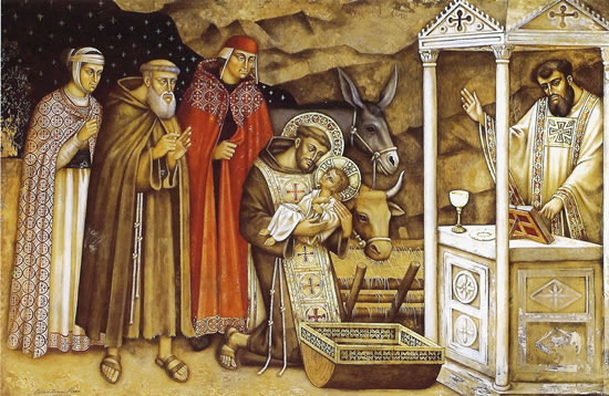 St Francis And The Nativity Capuchin Franciscans