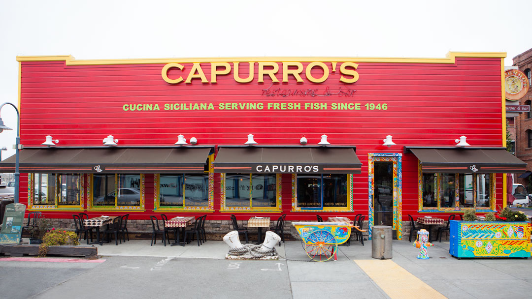 Capurro S Restaurant In Fisherman S Wharf San Francisco