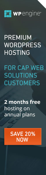 WP Engine & Cap Web Solutions Working together to offer the best industry hosting