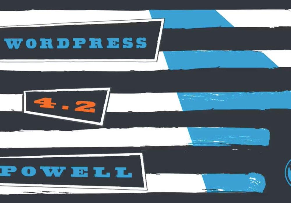 WordPress 4.2 Announcement Logo