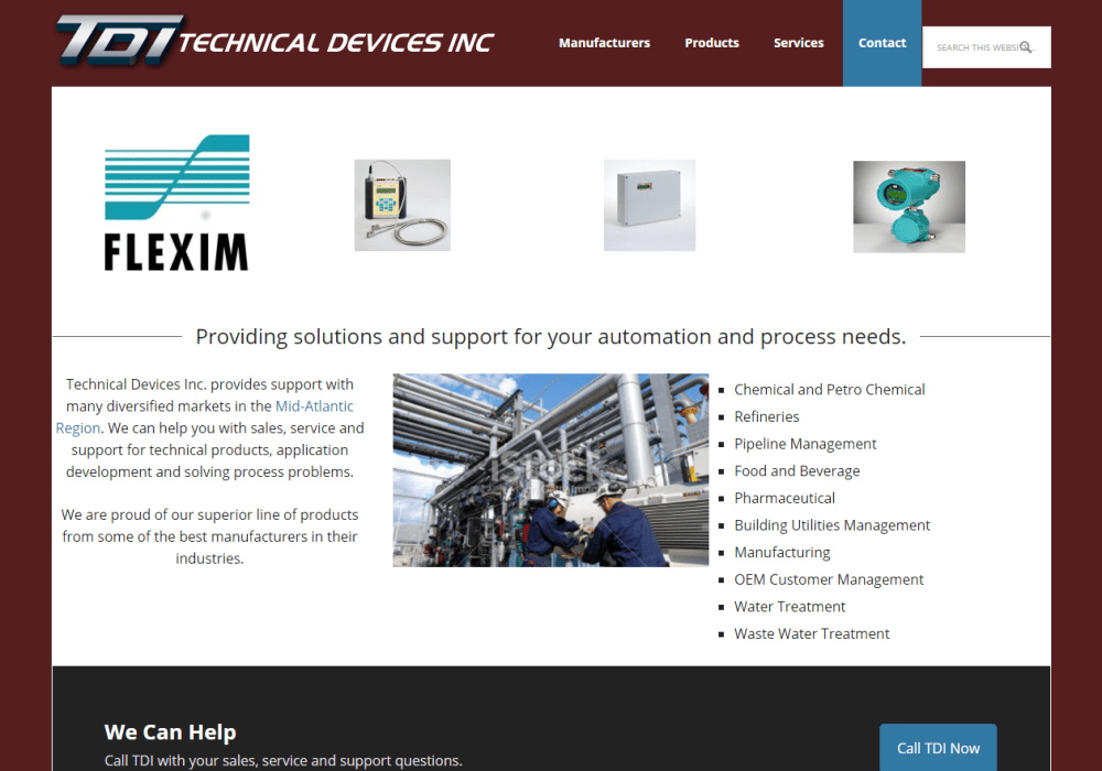 Technical Devices Inc