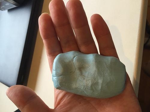 鉄粉取粘土