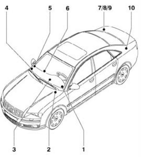 2004 Audi A8 Fuse Box Diagram : Fuse box diagram Audi A8