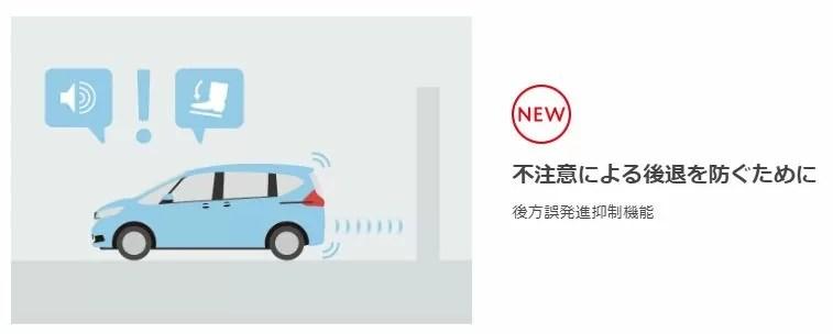 新型フリード安全性能
