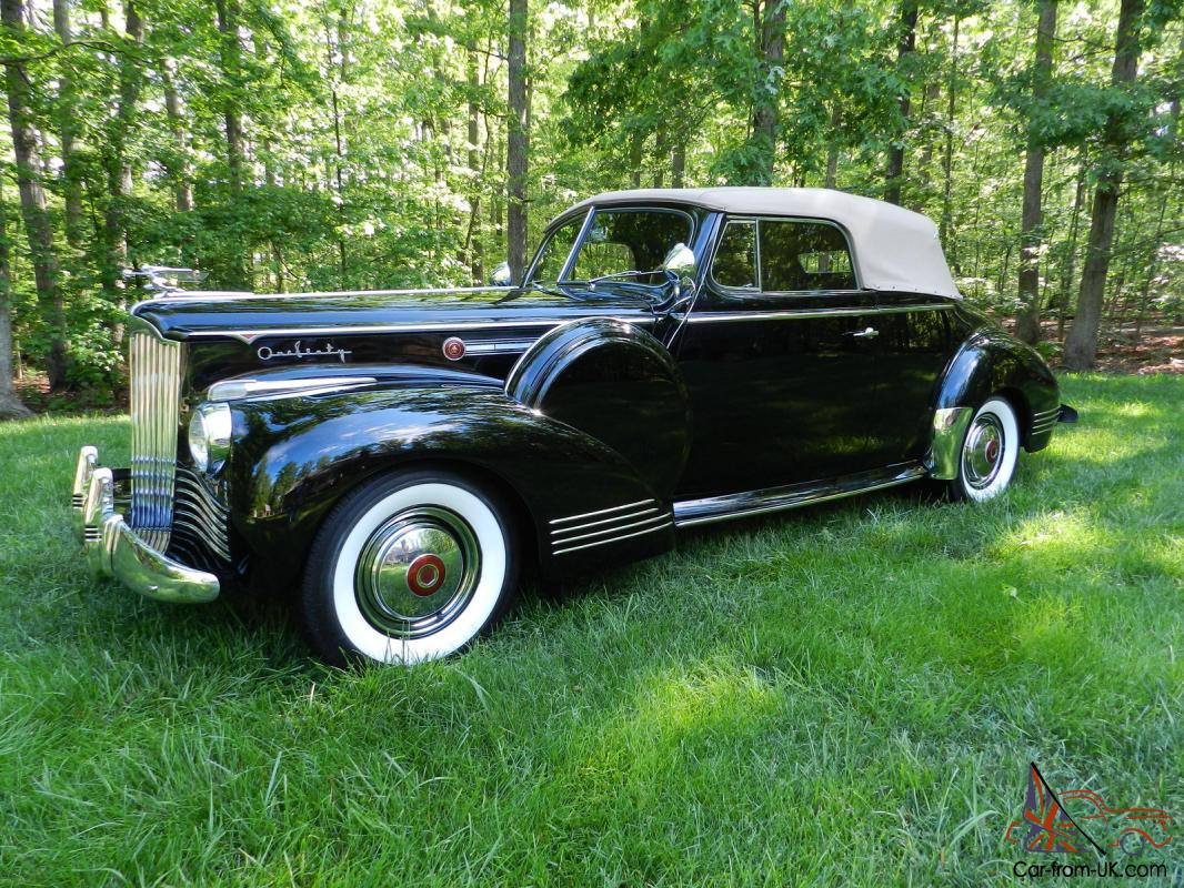 1942 Packard 2door Convertible