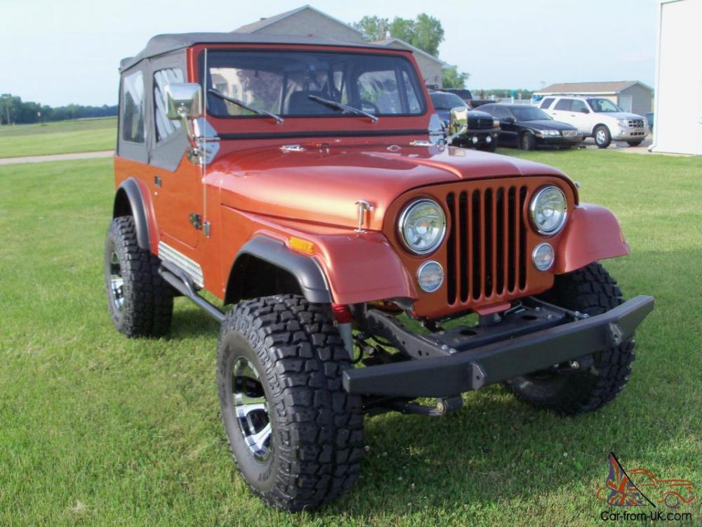 medium resolution of jeep cj7 orange