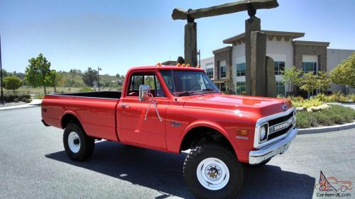 small resolution of 1970 chevrolet k20 c20 pickup truck fire 4x4 photo