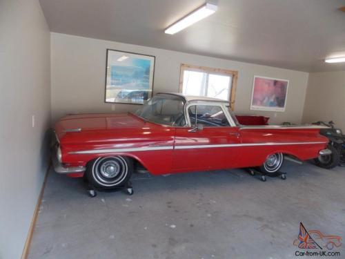 small resolution of  3 1959 chevrolet el camino collection driver fixer and parts cars photo