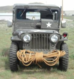 1951 us army jeep willys military original overland jeep arctic top extras [ 1066 x 800 Pixel ]