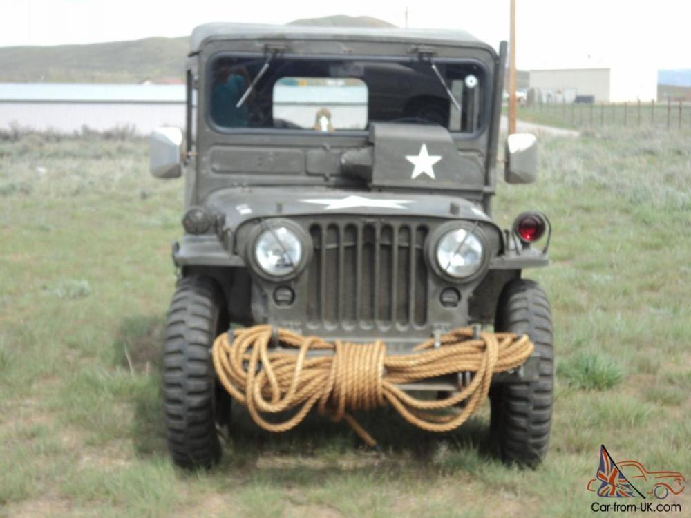medium resolution of 1951 us army jeep willys military original overland jeep arctic top extras