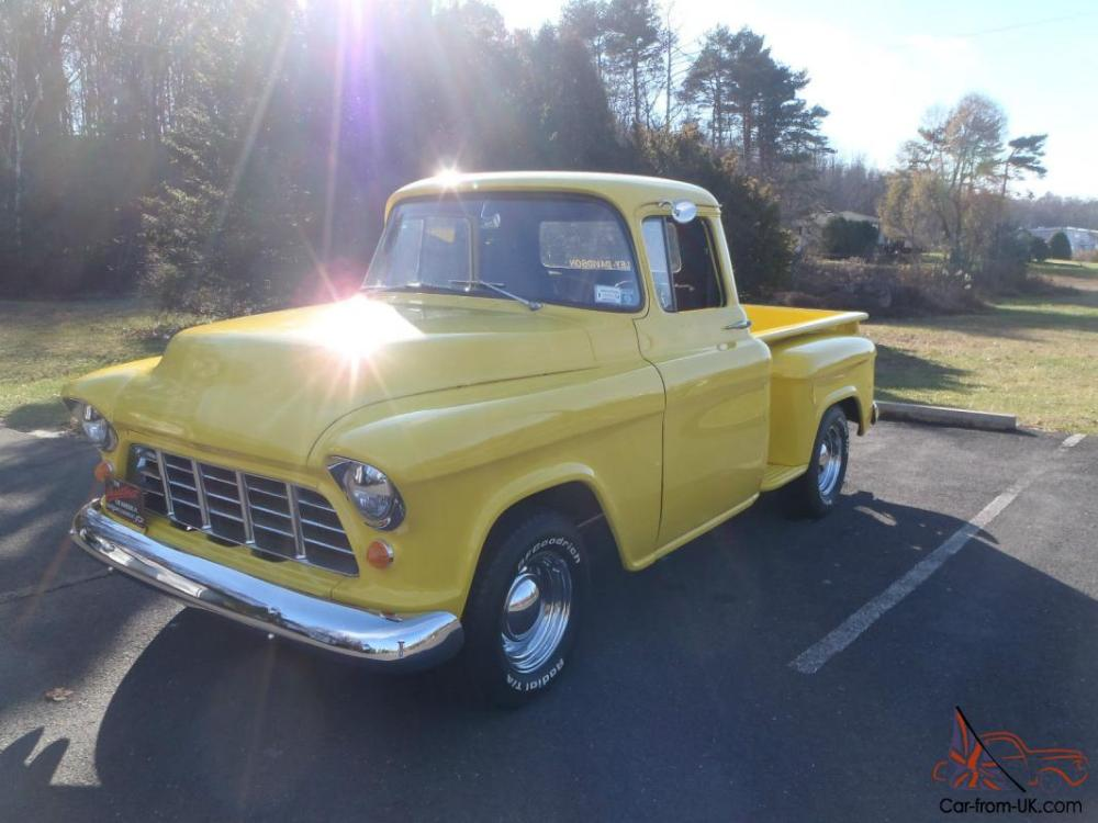 medium resolution of 1957 chevrolet 3100 pick up short bed step side chevy truck photo
