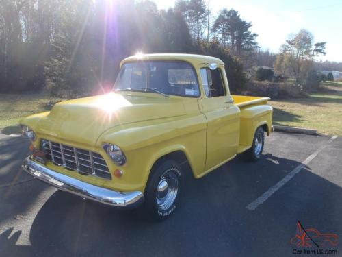 small resolution of 1957 chevrolet 3100 pick up short bed step side chevy truck photo