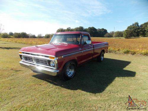 small resolution of 1977 ford f150 ranger long bed 460 engine photo