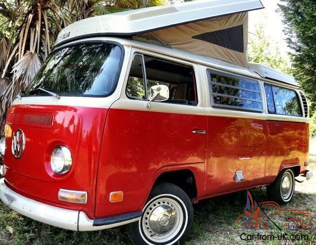 restored vw bus camper
