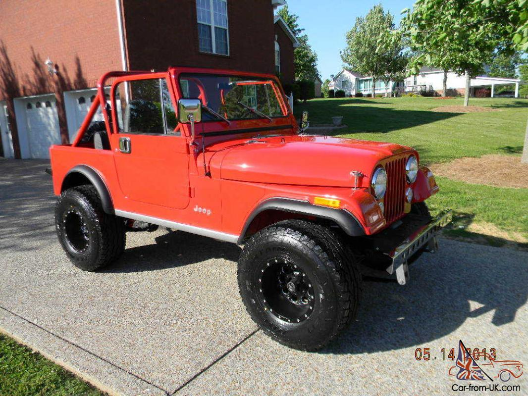 hight resolution of 1984 jeep cj7 hardtop very nice low miles low reserve