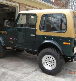 1980 jeep cj7 hard top for [ 1066 x 800 Pixel ]