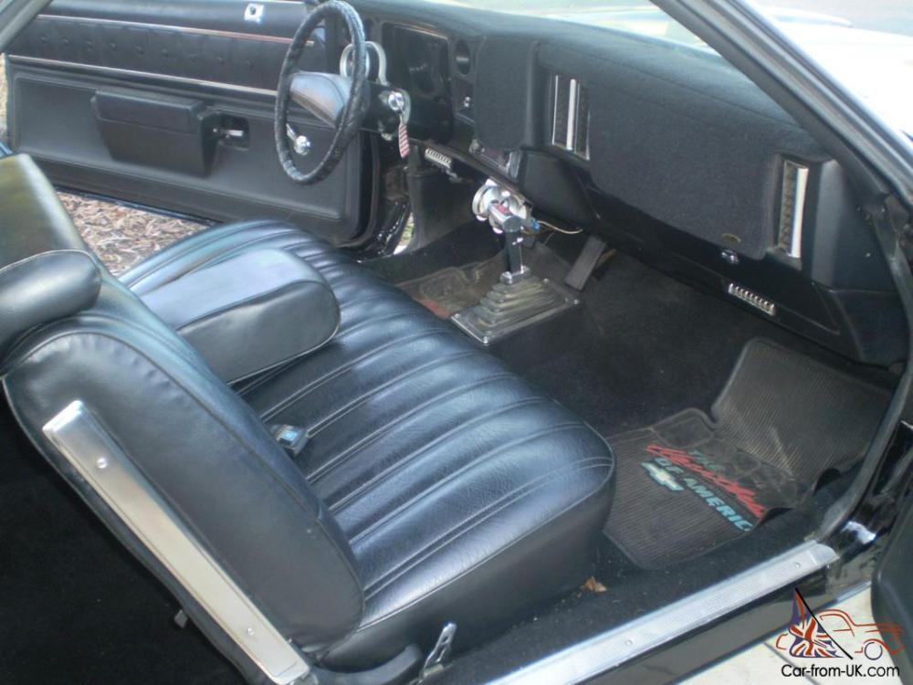 medium resolution of 1974 el camino interior