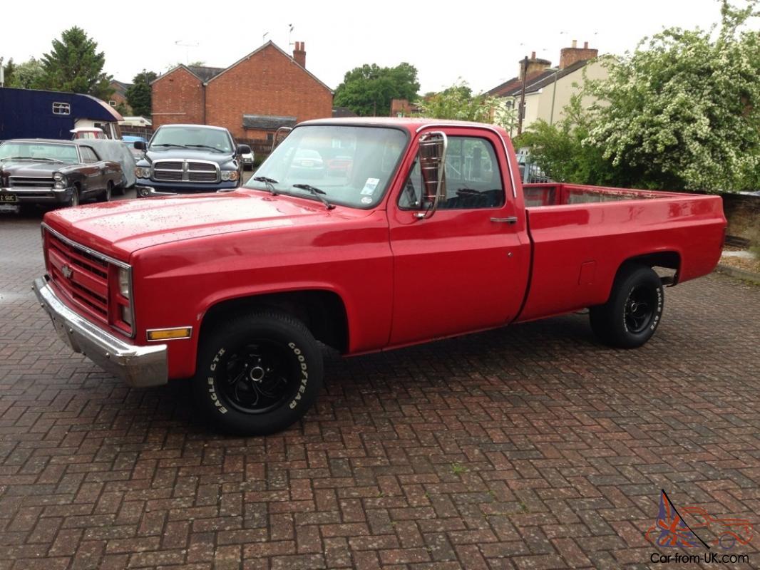 hight resolution of 1985 chevy c10 pickup truck v8