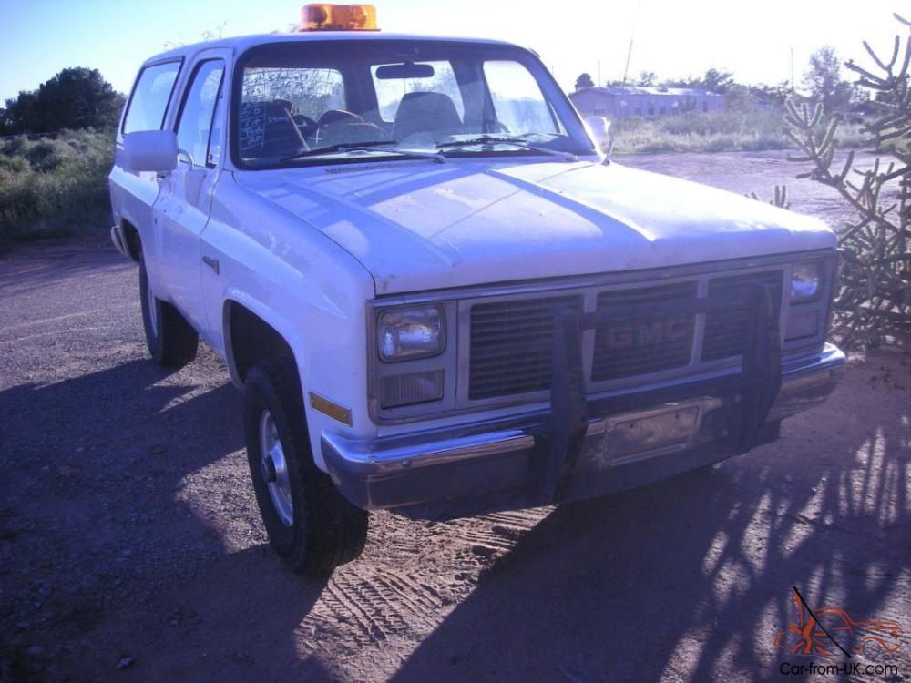 medium resolution of 1987 gmc jimmy k 5 blazer photo