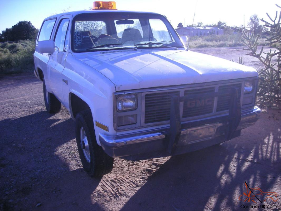 hight resolution of 1987 gmc jimmy k 5 blazer photo