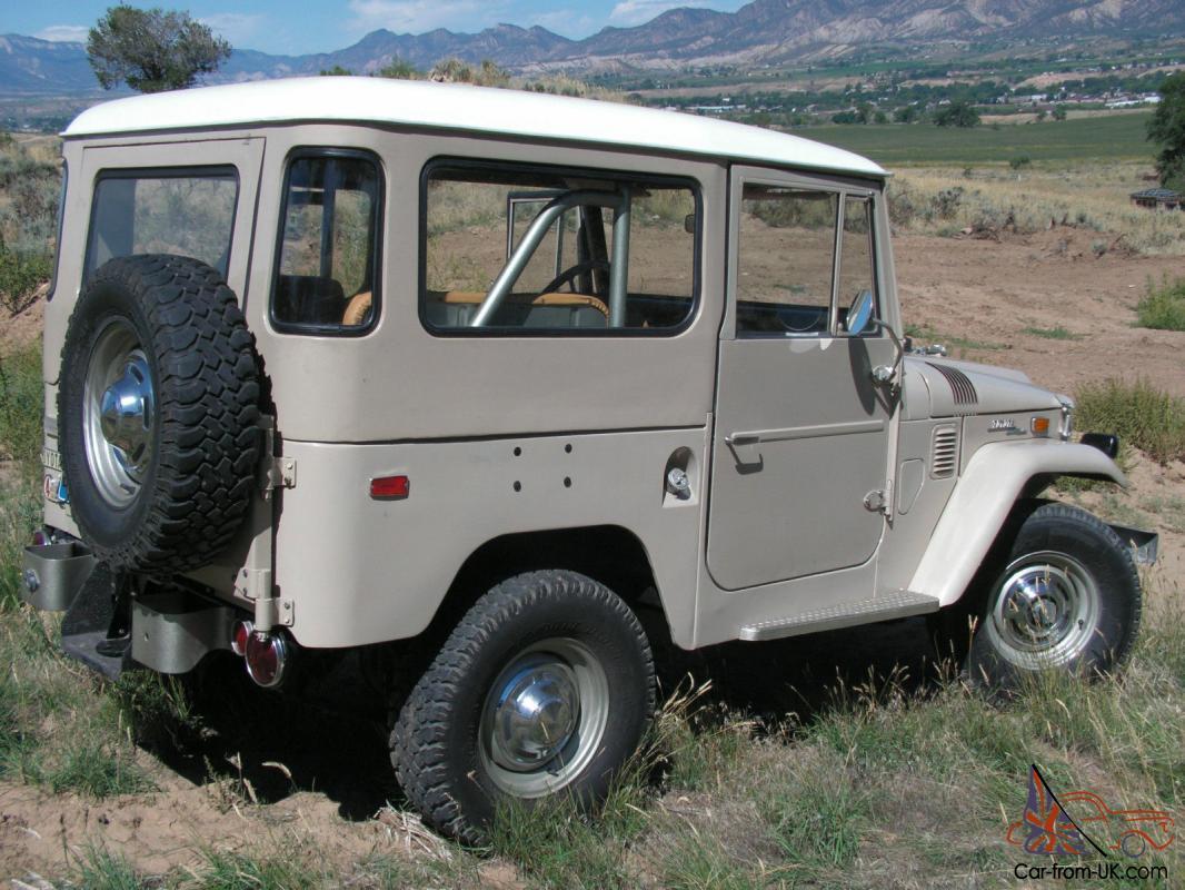 1971 Toyota Land Cruiser Tie Rod