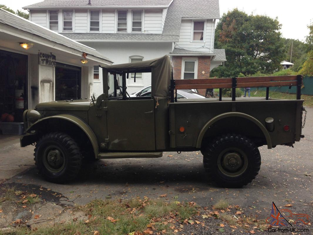 hight resolution of military m37 power wagon
