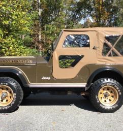 1977 jeep cj5 jeep cj golden eagle all original [ 1071 x 800 Pixel ]